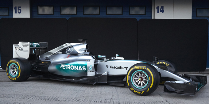 Mercedes Petronas Formula One Car